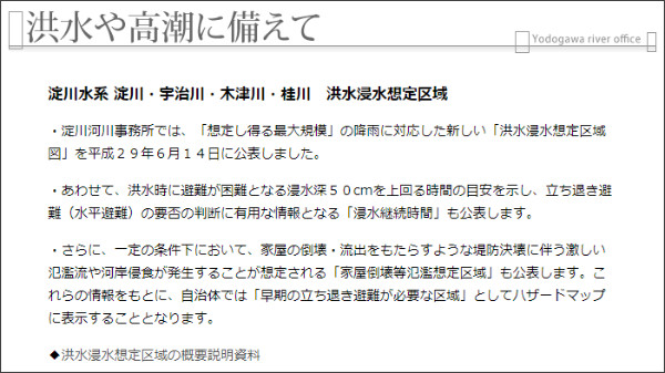 http://www.yodogawa.kkr.mlit.go.jp/activity/maintenance/possess/sim/bosai_sonae_01hyo.html