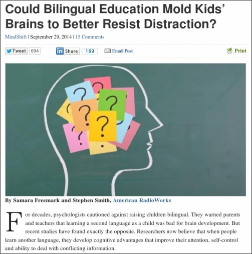http://blogs.kqed.org/mindshift/2014/09/could-bilingual-education-mold-kids-brains-to-better-resist-distraction/