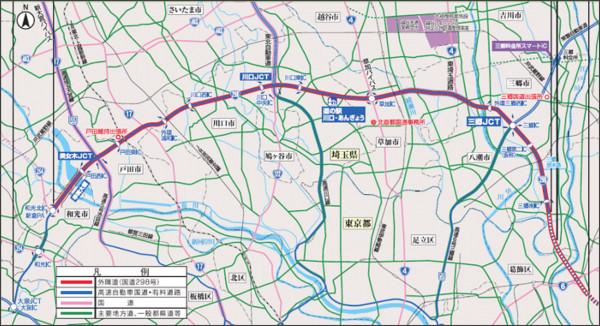 外環道(埼玉区間)