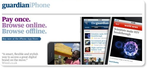 http://www.guardian.co.uk/iphone