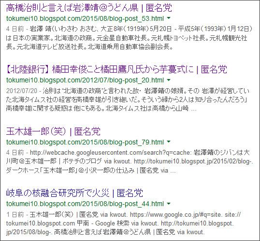 https://www.google.co.jp/#q=site:%2F%2Ftokumei10.blogspot.com+%E5%B2%A9%E6%BE%A4%E9%9D%96