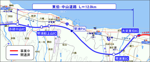 東伯・中山道路/道路企画課・道路建設課/とりネット/鳥取県公式サイト