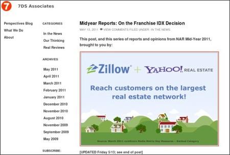 http://7dsassociates.com/2011/05/midyear-reports-franchise-idx-decision/