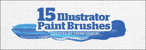 http://thinkdesignblog.com/free-vectors-15-paint-brushstroke-illustrator-brushes.htm