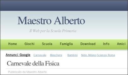http://www.albertopiccini.it/2010/03/10/carnevale-della-fisica/