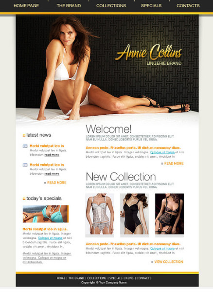 http://www.hottemplates.com/details/45/lingerie-brand-website-template.html