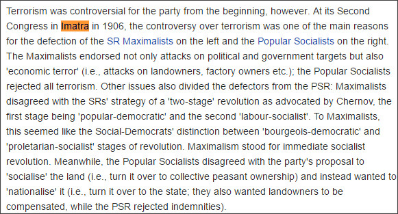 https://en.wikipedia.org/wiki/Socialist_Revolutionary_Party