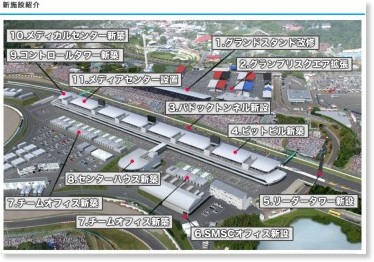 http://www.suzukacircuit.jp/2and4/facilities/facilitiesmap.html