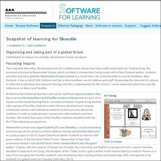 http://softwareforlearning.tki.org.nz/Snapshots/Skoodle