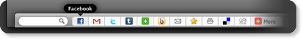 social bookmarking share bar for blogger