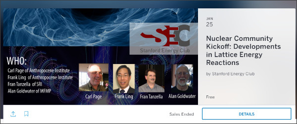 https://www.eventbrite.com/e/nuclear-community-kickoff-developments-in-lattice-energy-reactions-tickets-31046155888#