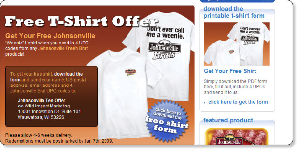 http://www.johnsonville.com/home/events-promos/weenie-shirt.html
