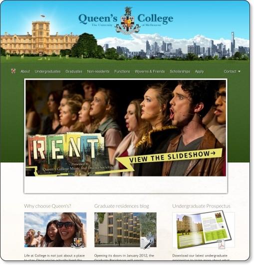 http://www.queens.unimelb.edu.au/