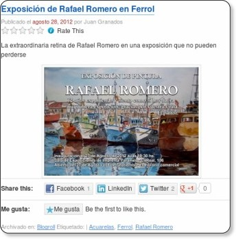 http://sartinefiles.wordpress.com/2012/08/28/exposicion-de-rafael-romero-en-ferrol/