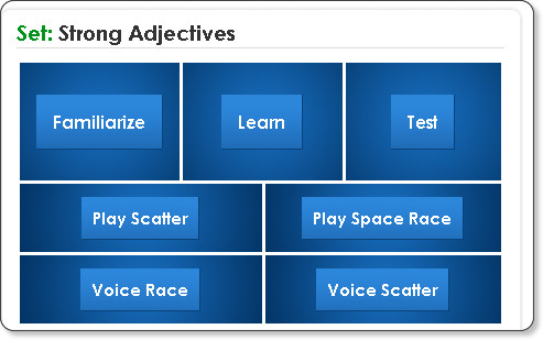 http://quizlet.com/239829/strong-adjectives-flash-cards/