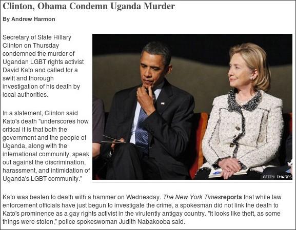 http://advocate.com/News/Daily_News/2011/01/27/Clinton_Condemns_Uganda_Murder/