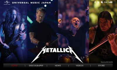 http://www.universal-music.co.jp/metallica
