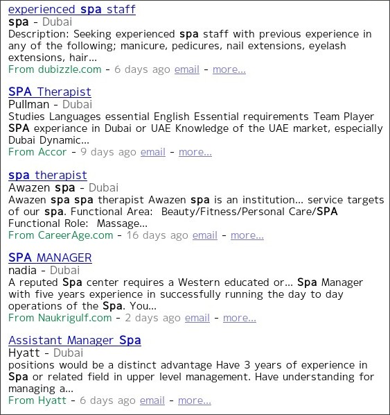 http://www.indeed.ae/Spa-jobs-in-Dubai