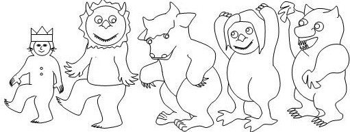 http://www.makinglearningfun.com/themepages/WhereWildThingsAre-coloringPages.htm
