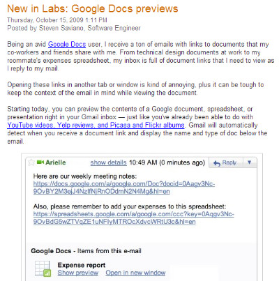 http://gmailblog.blogspot.com/2009/10/new-in-labs-google-docs-previews.html