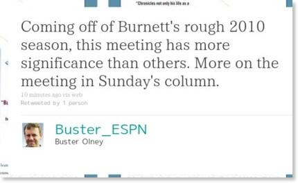 http://twitter.com/Buster_ESPN/statuses/8670199788081152