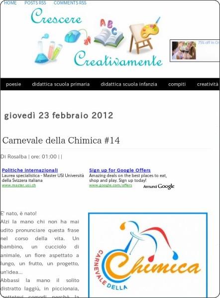 http://www.crescerecreativamente.org/2012/02/carnevale-della-chimica-14.html