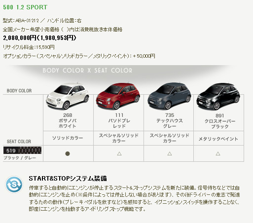http://www.fiat-auto.co.jp/showroom_500_price.html
