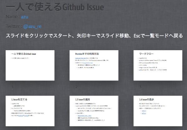 http://azu.github.io/slide/udonjs/github-issue.html