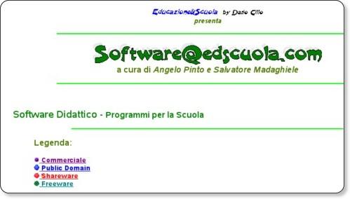 http://www.edscuola.com/archivio/software/soft1.html