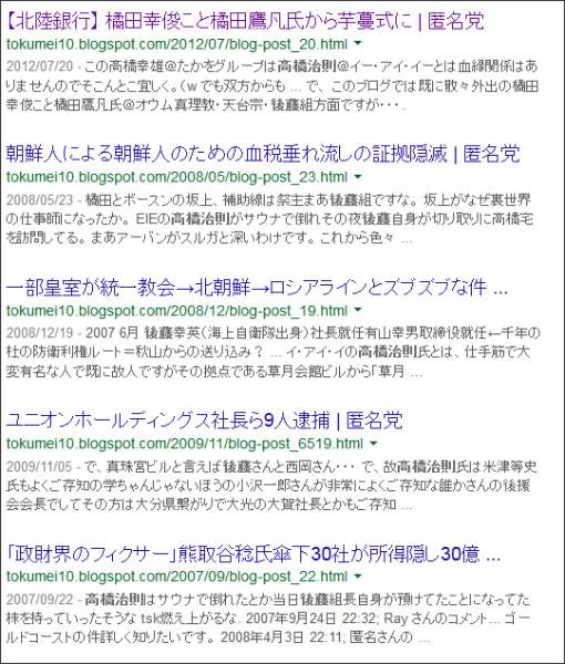 https://www.google.co.jp/#q=site:%2F%2Ftokumei10.blogspot.com+%E9%AB%98%E6%A9%8B%E6%B2%BB%E5%89%87+%E5%BE%8C%E8%97%A4