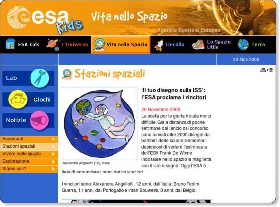http://www.esa.int/esaKIDSit/SEMLGX9WYNF_LifeinSpace_0.html