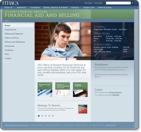 http://www.ithaca.edu/finaid
