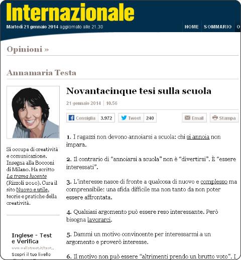http://www.internazionale.it/opinioni/annamaria-testa/2014/01/21/novantacinque-tesi-sulla-scuola/