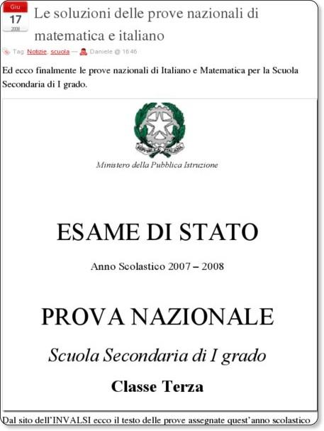 http://lnx.sinapsi.org/wordpress/2008/06/le-prove-nazionali-di-matematica-e-italiano-con-le-soluzioni#comment-2419