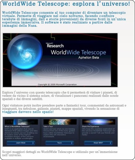 http://air.imginternet.it/Risorse_online_per_la_scuola/WorldWide_Telescope/WorldWide_Telescope_Esplora_LUniverso.kl
