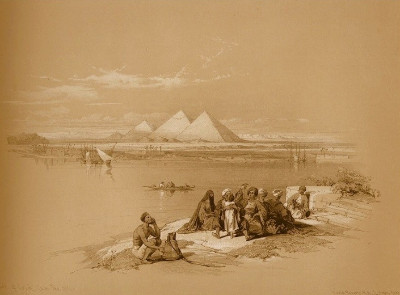 http://web.mac.com/musicksmonumentbergh/EGYPT_%26_NUBIA_VOL_I/PYRAMIDS_OF_GEEZEH,_FROM_THE_NILE.html
