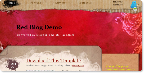 Best Artistic Blogger Templates