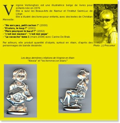 http://www.bd-bulles.com/virginie-vertonghen/biographie-virginie-vertonghen.html
