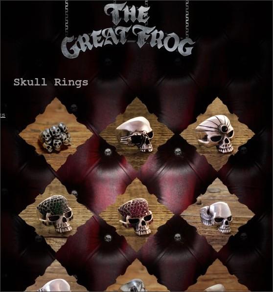 http://www.thegreatfroglondon.com/store/skull-rings/