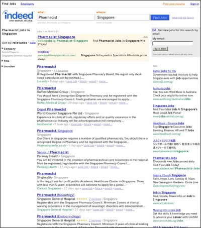 http://www.indeed.com.sg/Pharmacist-jobs-in-Singapore