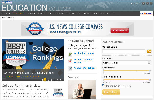 http://colleges.usnews.rankingsandreviews.com/best-colleges