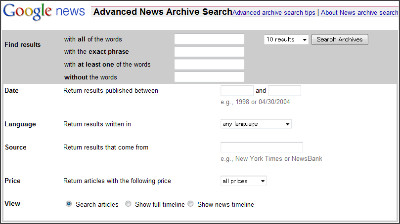 http://news.google.com/archivesearch/advanced_search?ned=us&hl=en