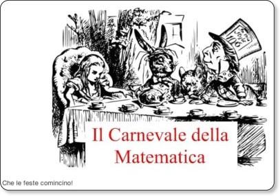 http://rudimatematici-lescienze.blogautore.espresso.repubblica.it/2010/02/14/carnevale-della-matematica-22/