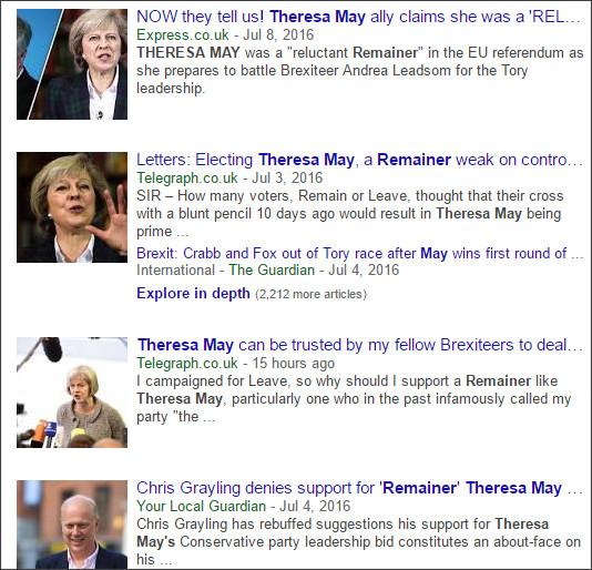 https://www.google.co.jp/?hl=EN&gws_rd=cr&ei=xaUwVt7eFM_KjwPjtYe4DA#hl=EN&tbm=nws&q=Theresa+May+remainer