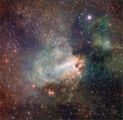 https://upload.wikimedia.org/wikipedia/commons/7/7f/VST_image_of_the_spectacular_star-forming_region_Messier_17_%28Omega_Nebula%29.jpg