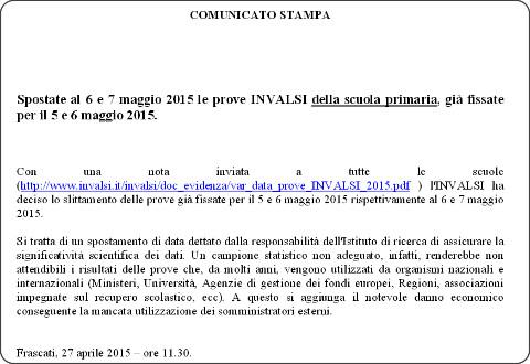 http://www.invalsi.it/invalsi/doc_evidenza/Comunicato_stampa_Post_Prove_INVALSI_2015_PRIMARIA.pdf