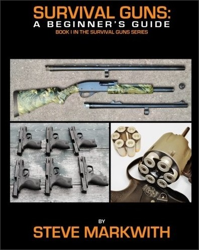 http://gunfreezone.net/index.php/2016/10/21/book-review-survival-guns-a-beginners-guide-by-steve-markwith/