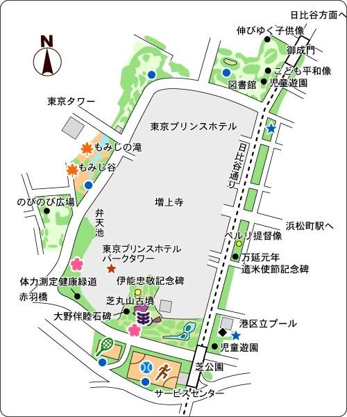 http://www.tokyo-park.or.jp/park/format/map001.html