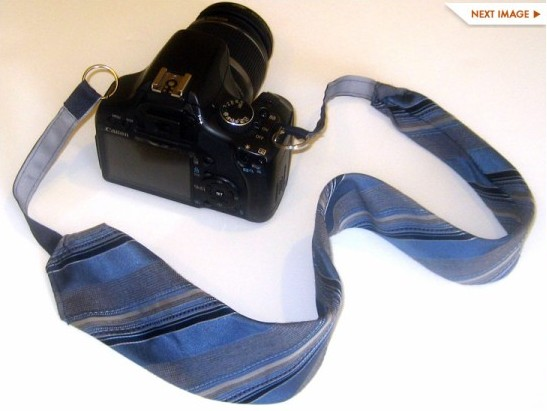 http://www.ecouterre.com/recycle-a-necktie-into-a-camera-strap-diy-tutorial/necktie-camera-strap-1/?extend=1