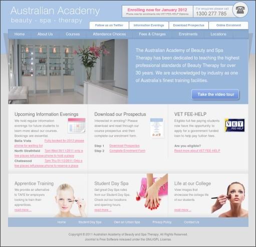 http://www.australianacademyofbeautytherapy.com/